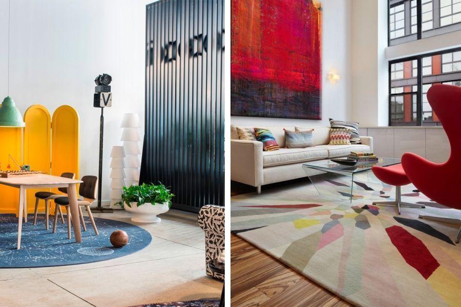 Wohnzimmer teppiche bestimmen die atmosph re im raum 2015 09 23 - Kleur die past bij de grijze ...